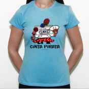 Cinta Pirata - Pantoja - Camiseta Fruit of The Loom