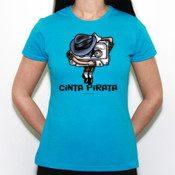Cinta Pirata - Michael - Camiseta Fruit of The Loom