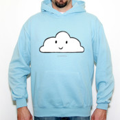 nube - Sudadera Fruit Of The Loom con capucha